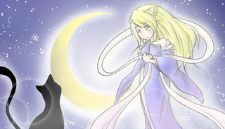 月の女神と白い子猫.png
